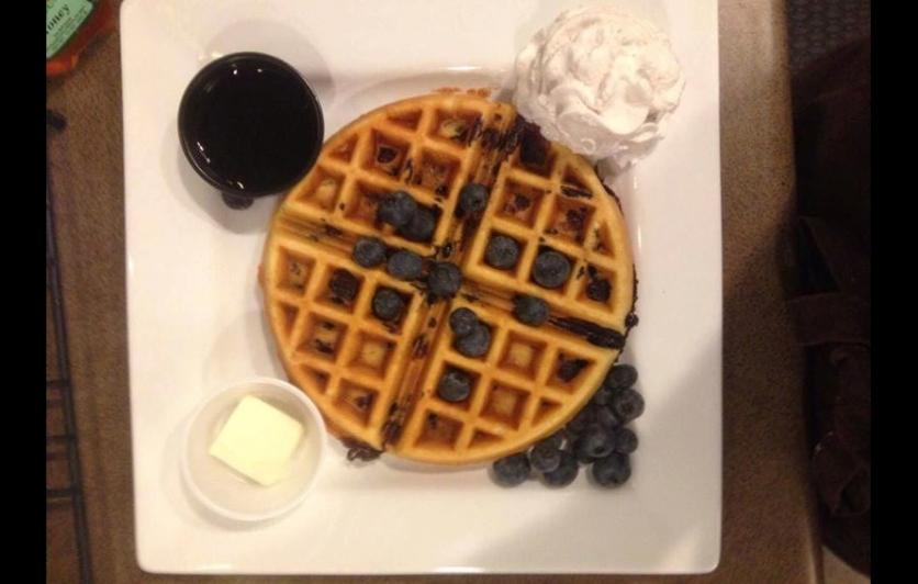 tealoha waffle