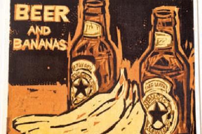 beer and bananas